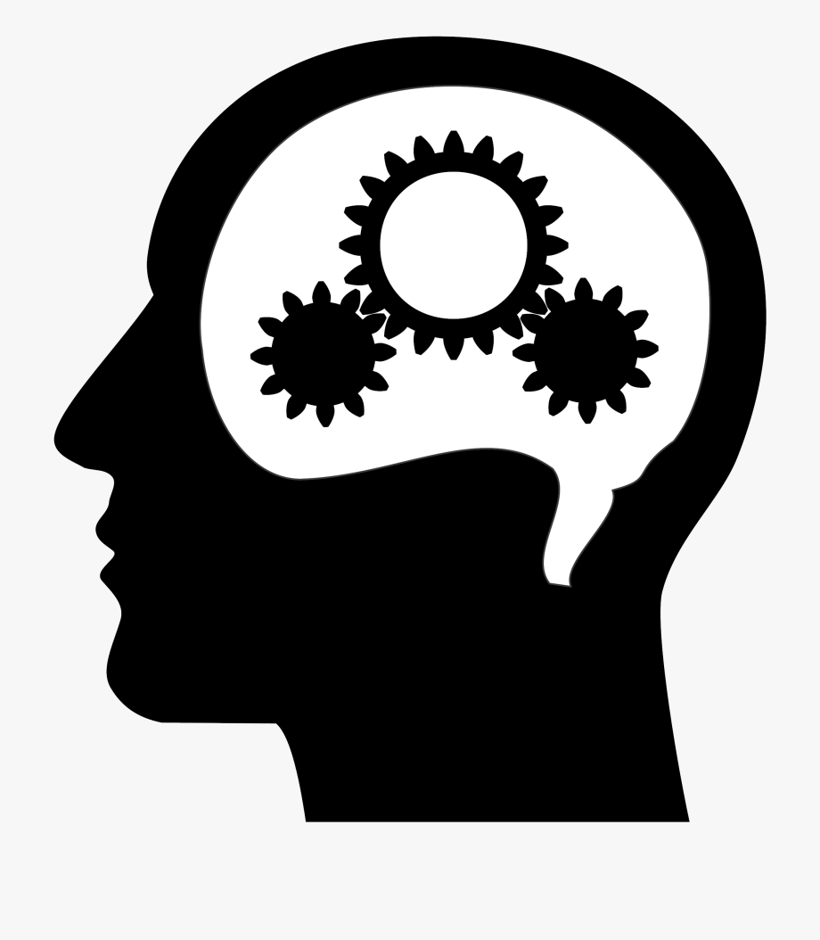 Thinking Brain Clipart 1.