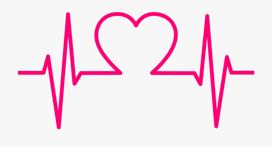 Transparent Background Heartbeat Png, Cliparts & Cartoons.