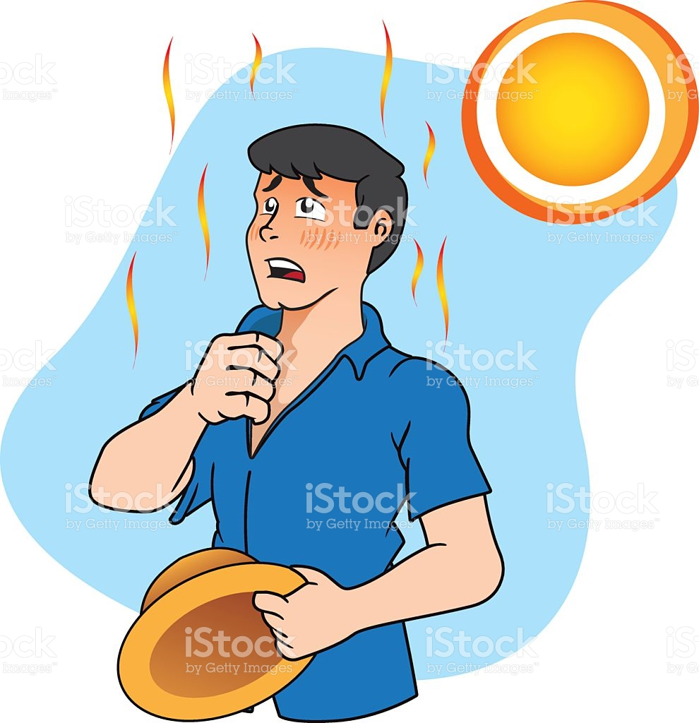 Heat Stress Clipart.