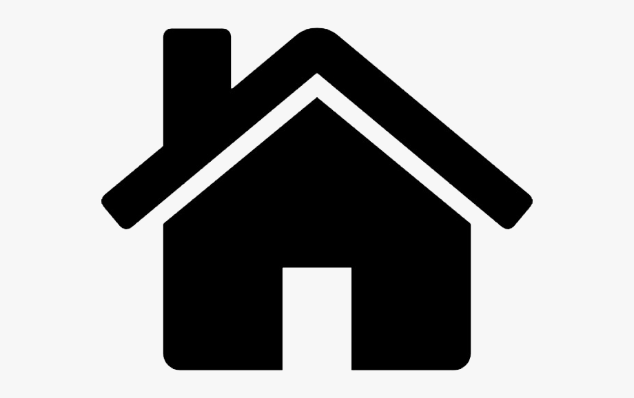 Clipart Of Hostels And Address Icon.