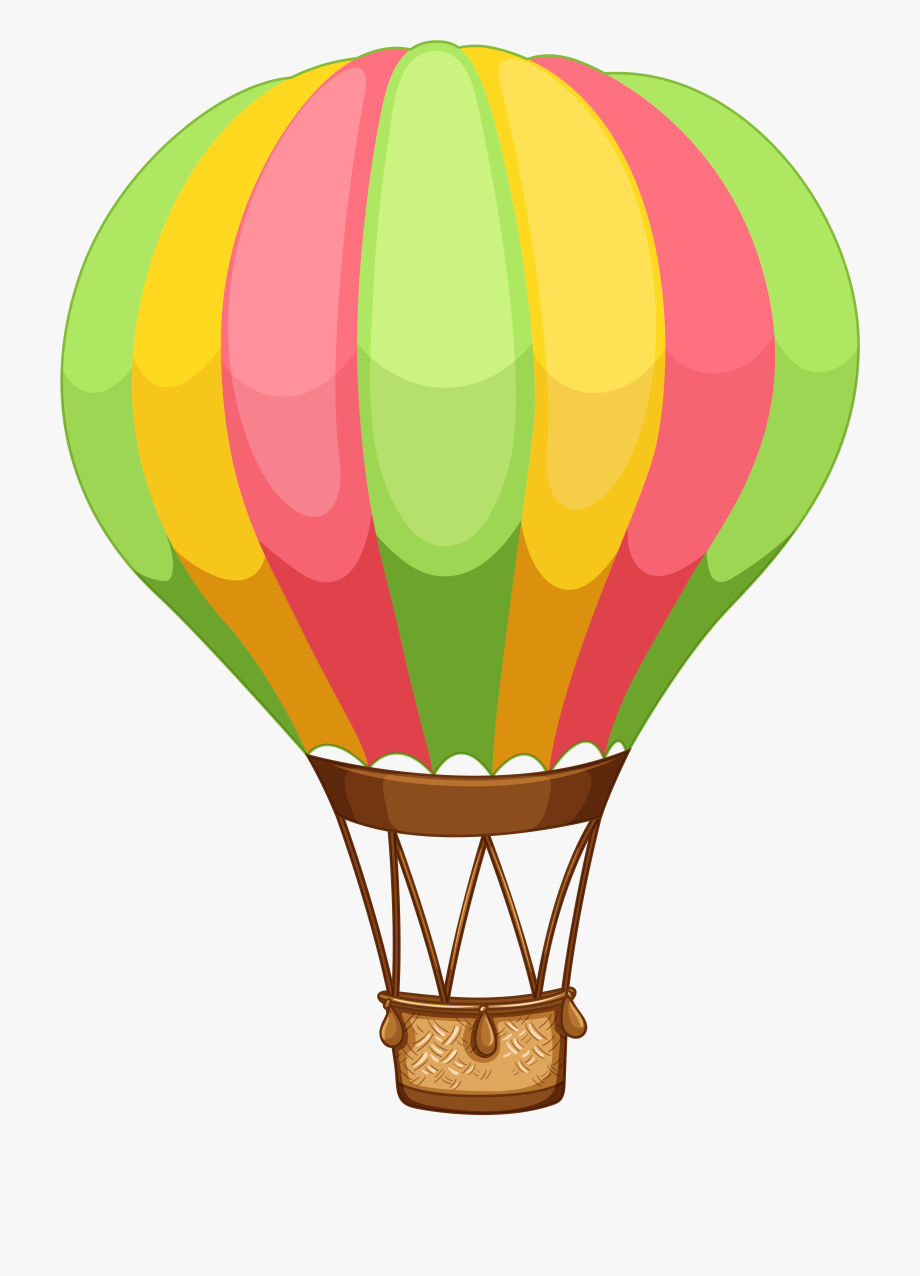Free Hot Air Balloon Clipart.