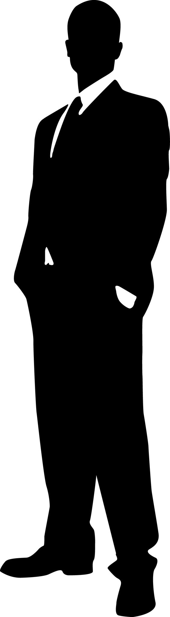 Hot guy clipart silhouette.
