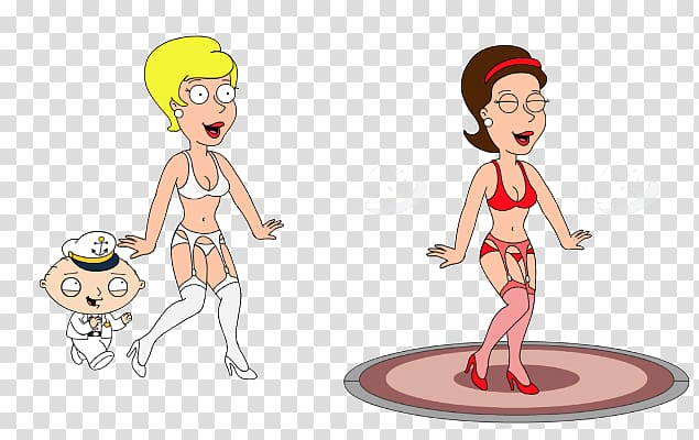 Lois Griffin Stewie Griffin Bonnie Swanson Meg Griffin.