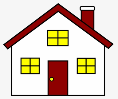 Free Of House Clip Art with No Background.
