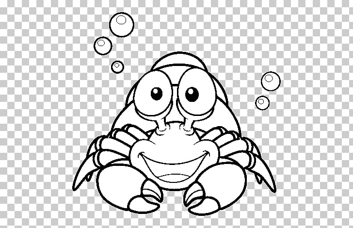 A House for Hermit Crab Coloring book Crustacean Drawing.
