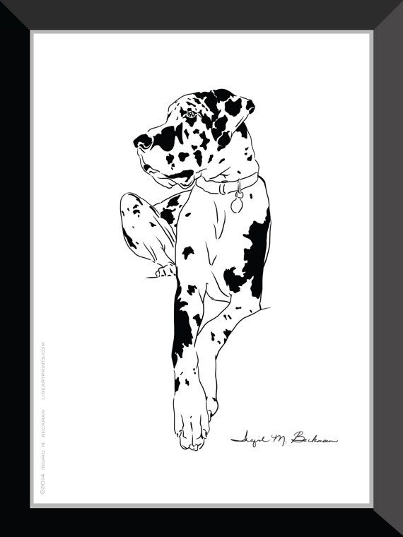 17 Best images about Great Dane Art on Pinterest.