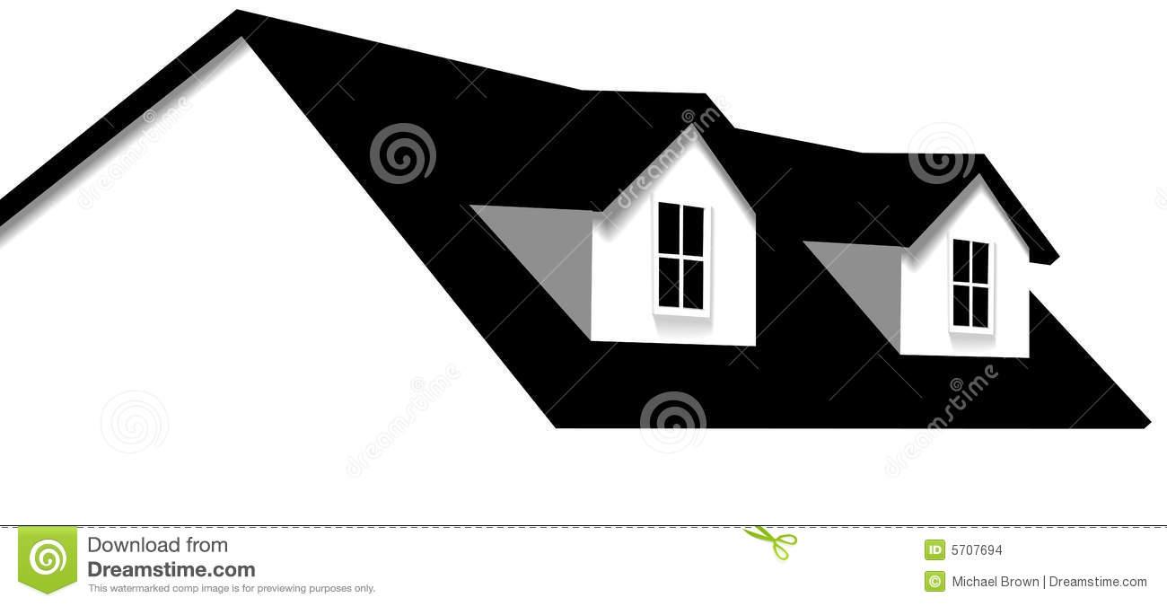 Roof Stock Illustrations.