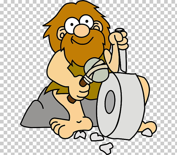Caveman Cartoon , Invention s PNG clipart.