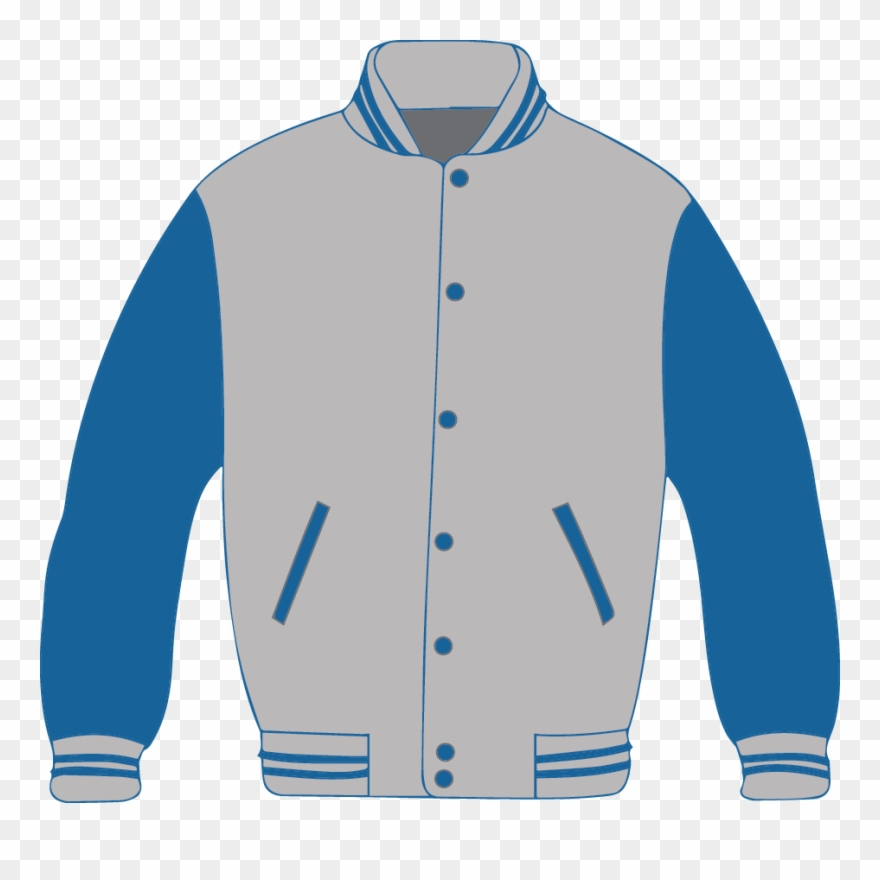 Jacket Clipart Blue Jacket.