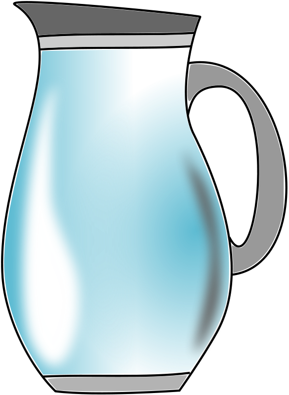 Jug Of Water Clipart.