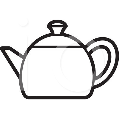Black Kettle Clipart.