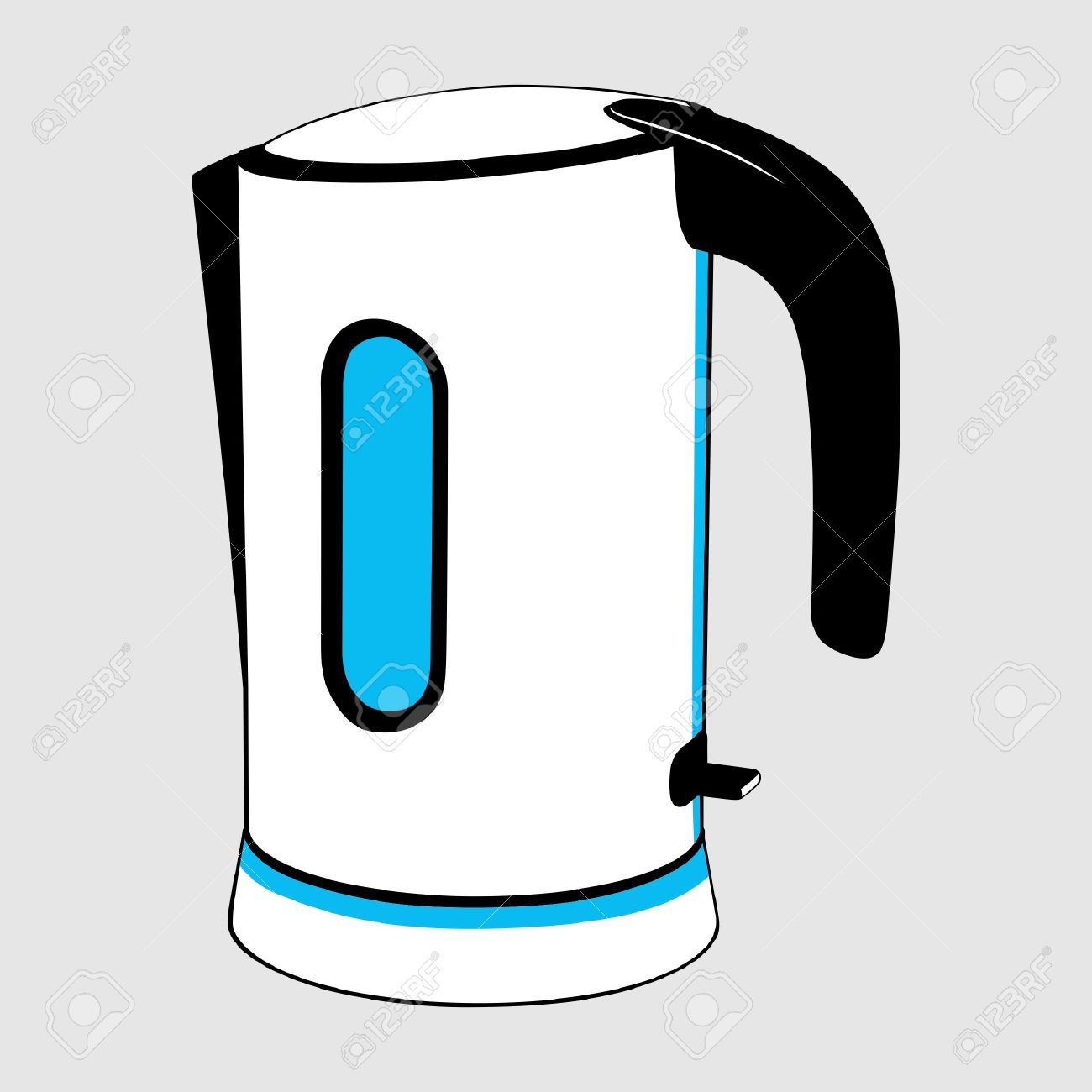 Electric Kettle Royalty Free Cliparts, Vectors, And Stock.