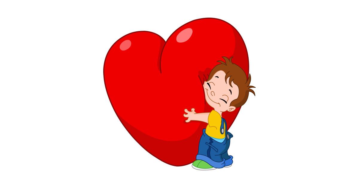Kid Hug Heart by yayayoyo.