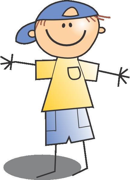 Kid Wearing Cap Clip Art at Clker.com.