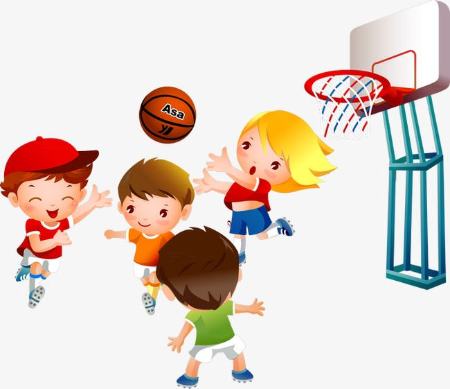 Kids playing basketball clipart 6 » Clipart Station.