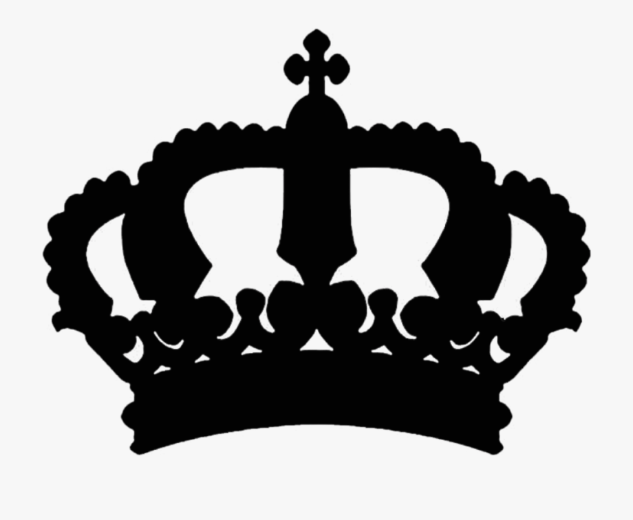 King Crown Clipart Silhouette.