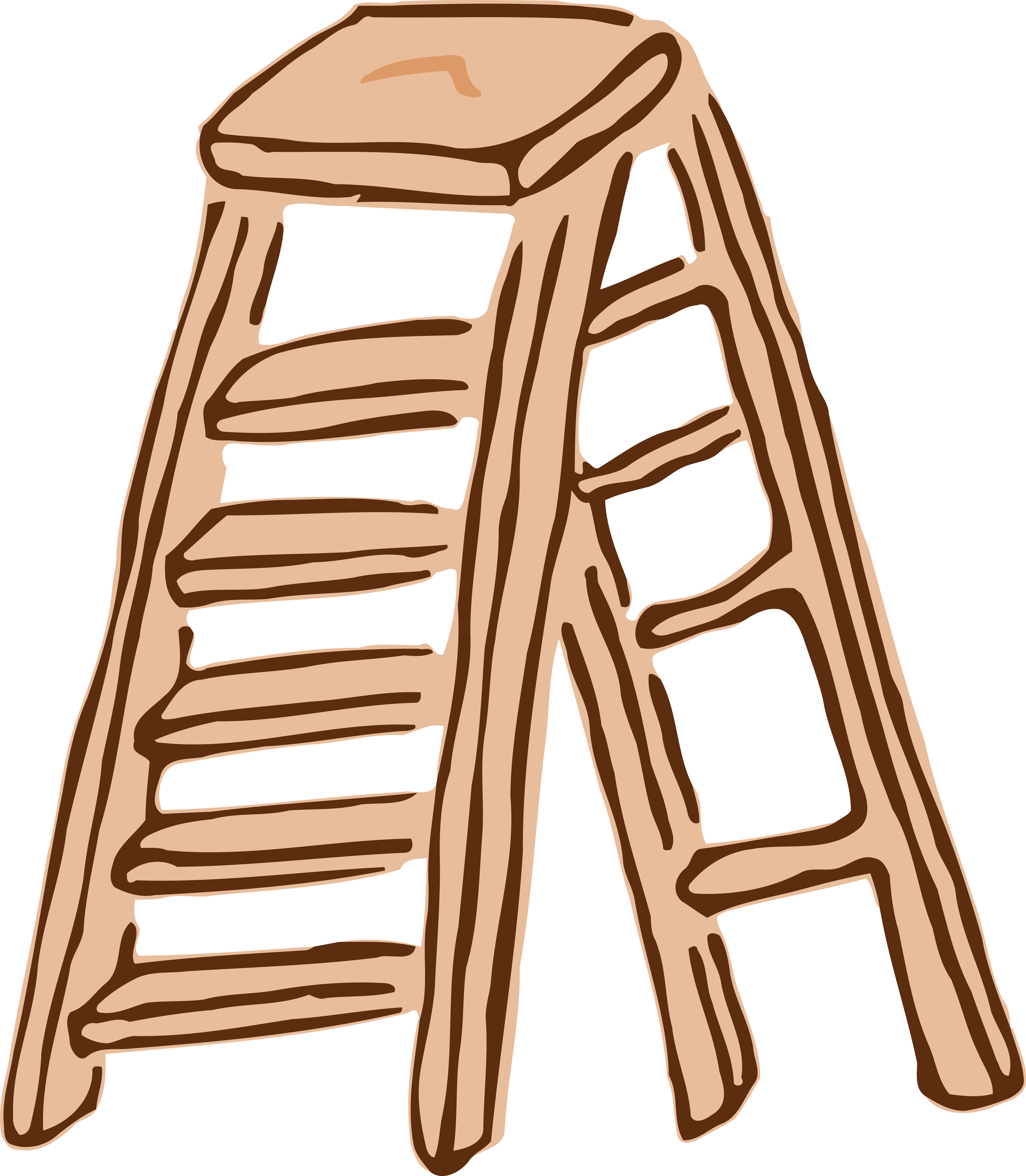 Clipart Of A Ladder.