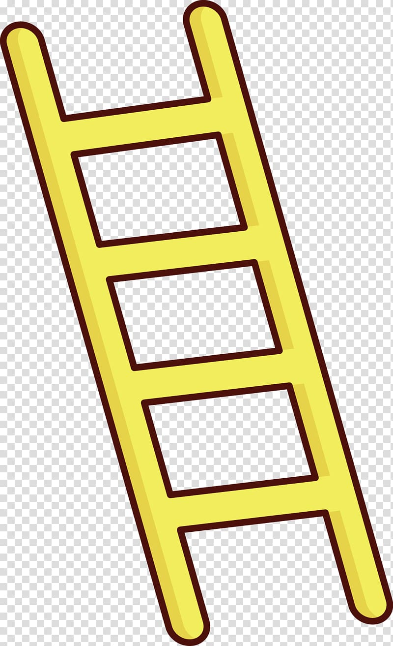 Ladder Stairs, A ladder transparent background PNG clipart.