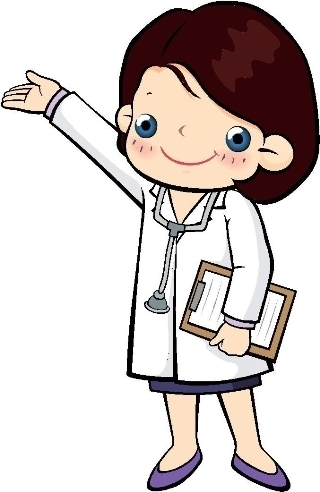 Lady doctor clipart clip art.