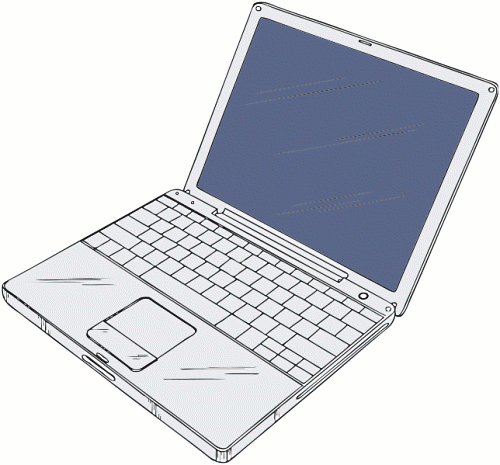 Free Laptop Clipart, 1 page of Public Domain Clip Art.