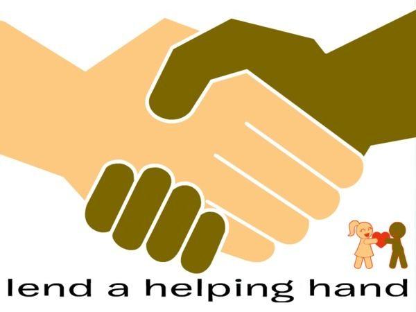 Imgs For > Lend A Helping Hand Clipart.