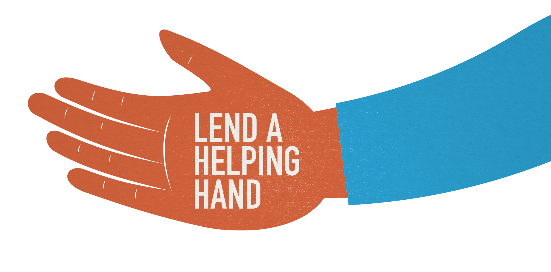 Lend A Helping Hand Clipart.