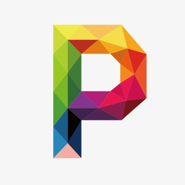 Colorful Letters P, Letter, Colorful, P PNG Transparent.