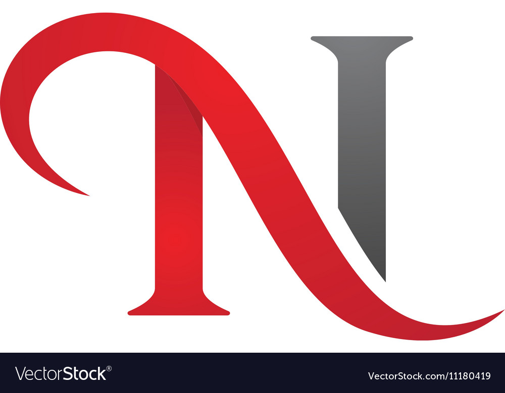 N Letter Logo Template.