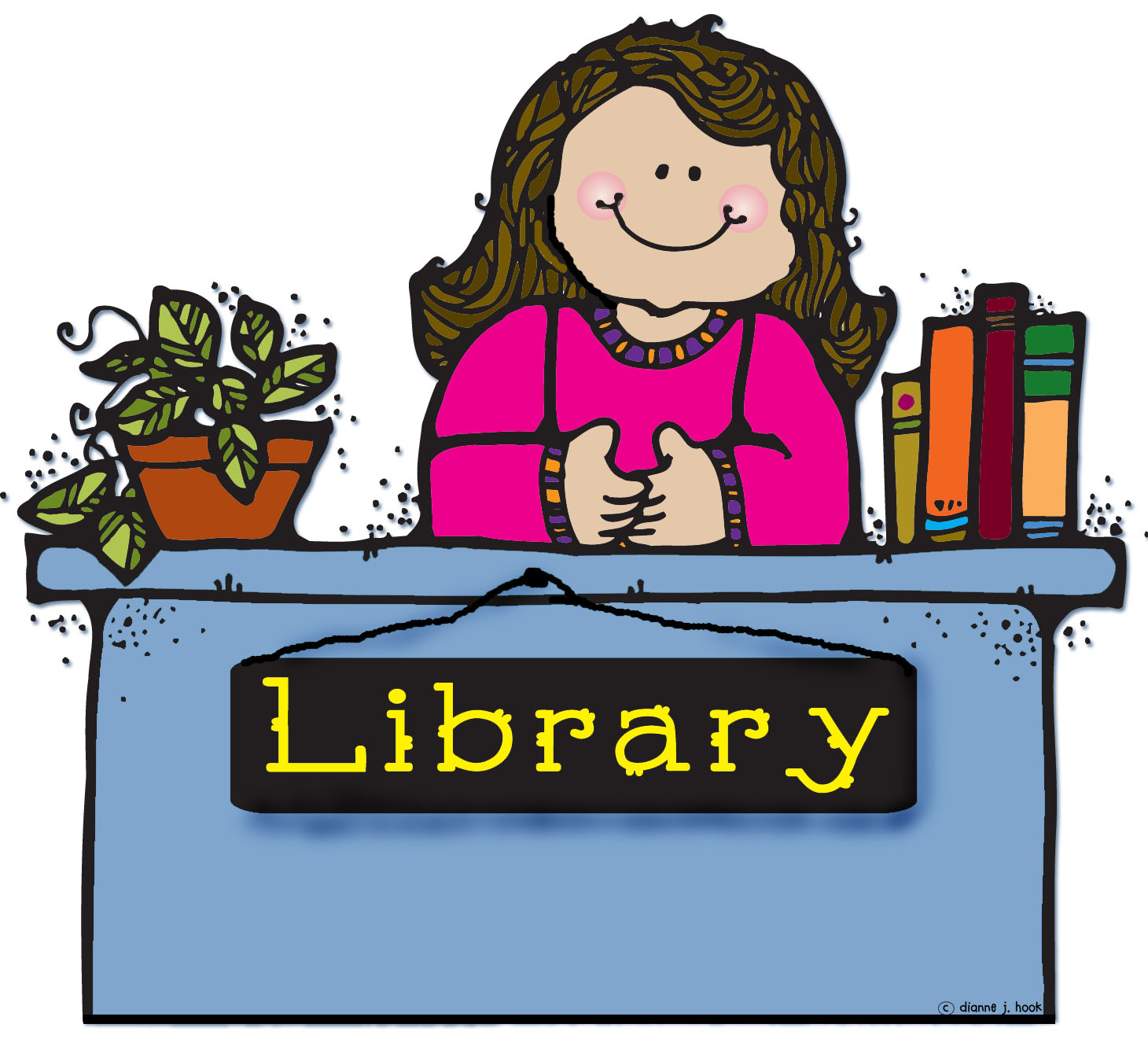 School librarian clipart 8 » Clipart Station.