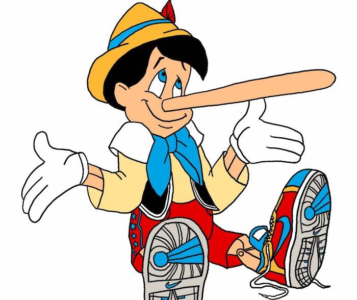 Lying Clipart.