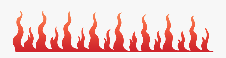 Black And White Fire Clipart Borders.