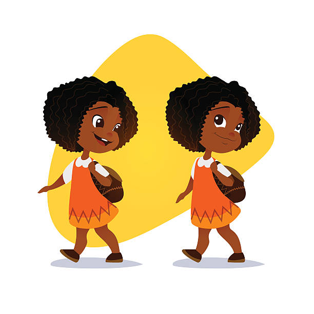 Little black girl clipart 4 » Clipart Station.