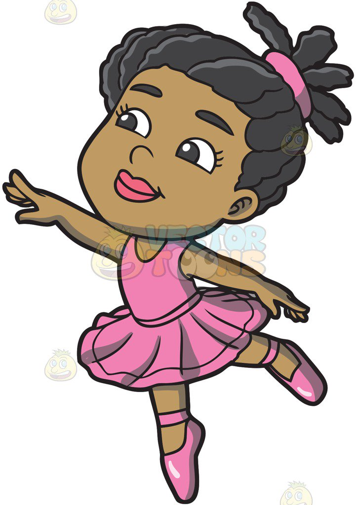 Little black girl clipart 1 » Clipart Station.