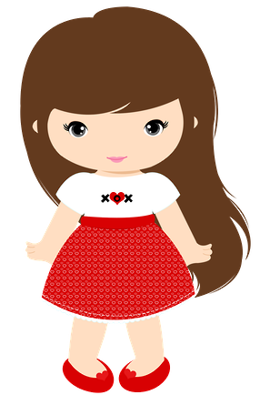 Picture Of A Little Girl Clipart.