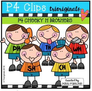 FREE P4 CHEEKY H Brothers (P4 Clips Trioriginals).