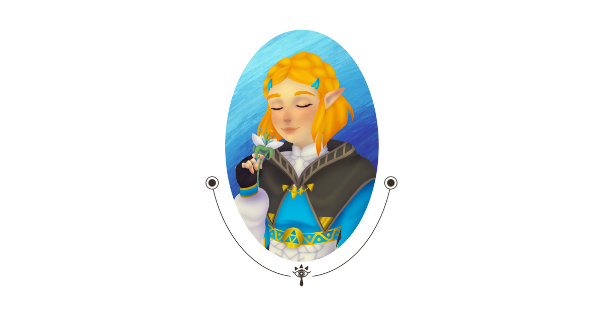 Short Hair Zelda by skyesartcorner.