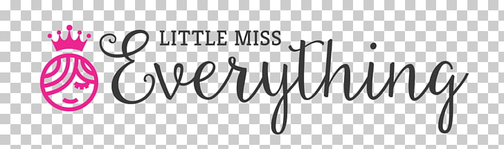 Little Miss Everything Logo Brand, family fun day PNG.