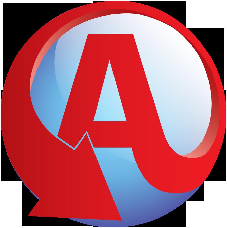A logo.