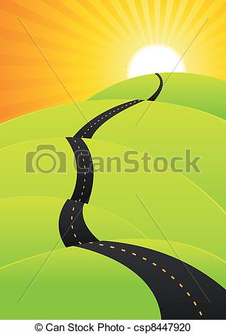 Long Journey Clipart.