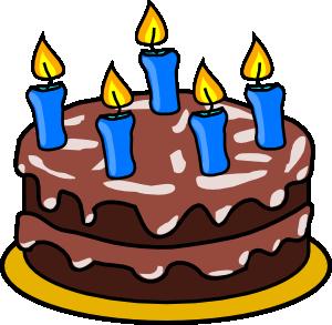 Birthday Cake 2 clip art.
