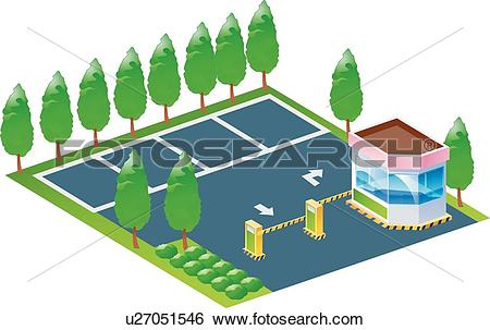 Parking lot Clipart Vector Graphics. 1,264 parking lot EPS clip.