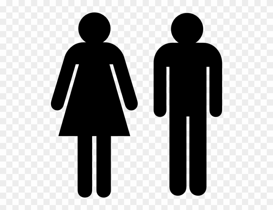 Male And Female Toilet Signs Clipart (#27414).