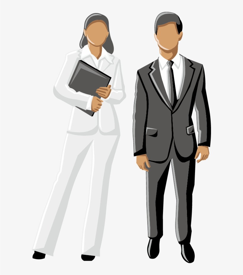 Men Clipart Business Woman.