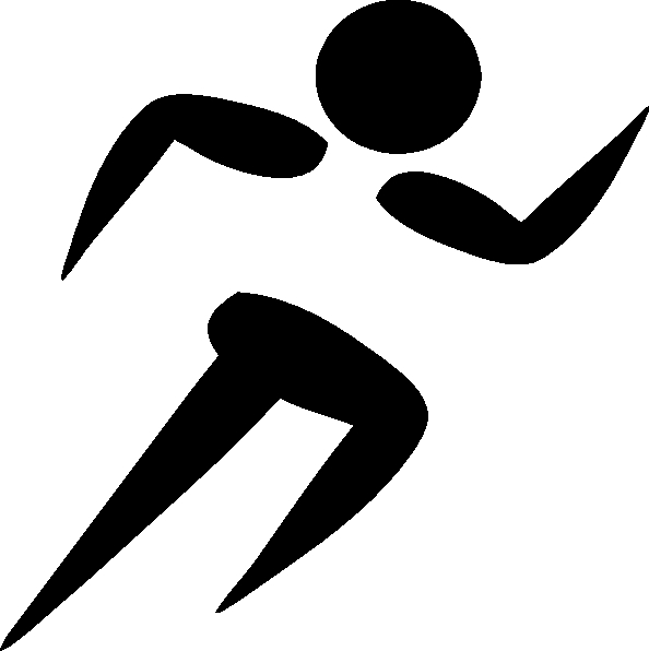 running clip art free sports jogging clipart clip art pictures.