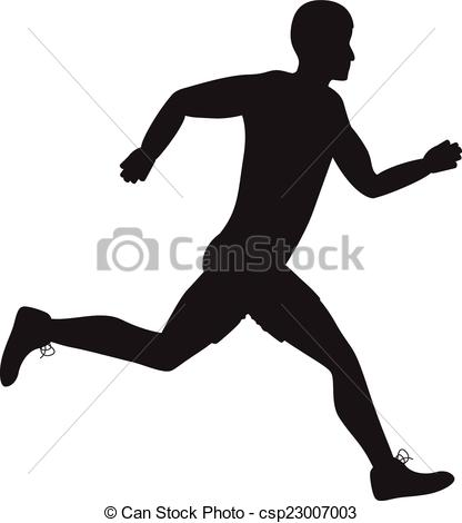 A Man Runking Clipart Clipground
