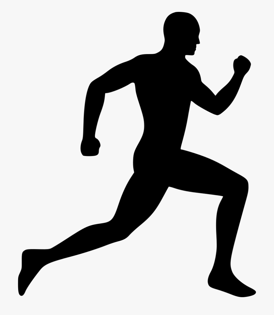 Running Person Clipart.