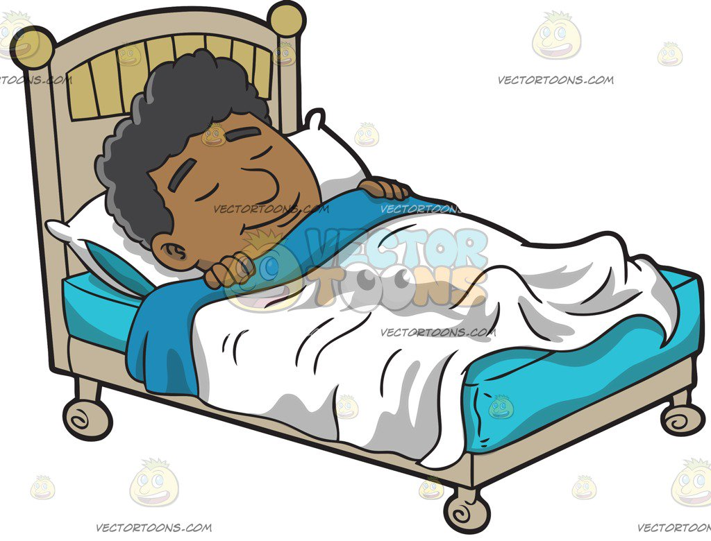Cartoon Man Sleeping Free Download Clip Art.