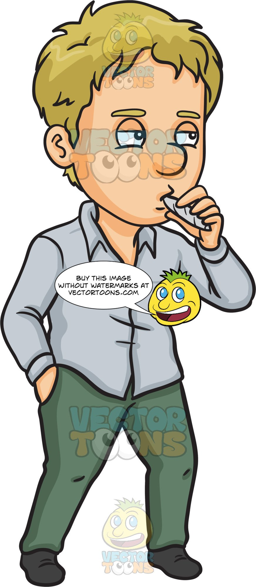 Smoking clipart guy, Smoking guy Transparent FREE for.