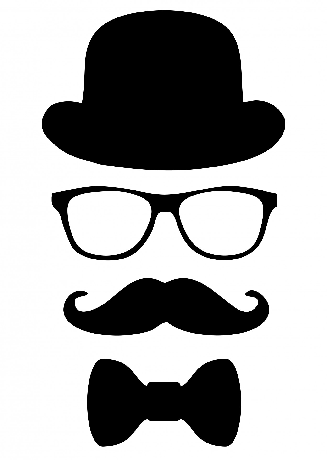 A Man In Disguise Clipart.