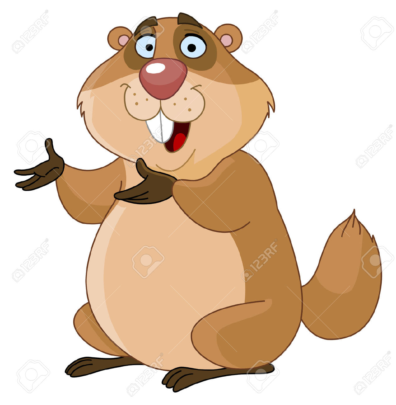 Groundhog Royalty Free Cliparts, Vectors, And Stock Illustration.